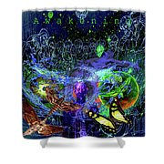 Solar Soul Awaken Shower Curtain