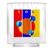 Solar Style Shower Curtain