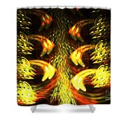 Solar Weave Shower Curtain