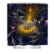 Solar Winds Shower Curtain