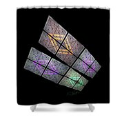 Solar Wings Shower Curtain