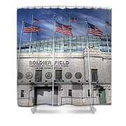 Soldier Field Shower Curtain