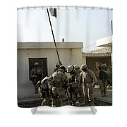 Soldiers From The Iraqi Special Forces Shower Curtain