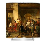 Soldiers In A Tavern During The Thirty Years Shower Curtain
