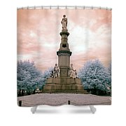 Soldier's Monument Shower Curtain
