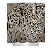 Solemnity - Tile Shower Curtain