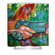 Solidariedade Shower Curtain