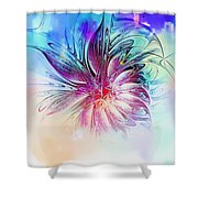 Solitaire Shower Curtain