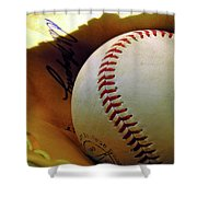 Solitary Ball 2 Shower Curtain