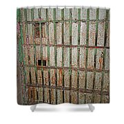 Solitary Confinement Shower Curtain