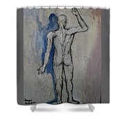 Solitude And Existence Shower Curtain