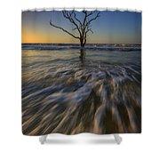 Solitude At Botany Bay Shower Curtain