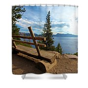 Solitude At Crater Lake Shower Curtain