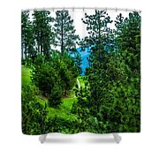 Solitude Journey Shower Curtain