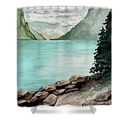 Solitude Of The Lake Shower Curtain