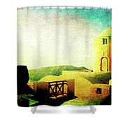 Solitude Shower Curtain by Sarah Vernon