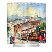 Soller In Majorca 01 Shower Curtain