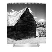 Solo Barn Shower Curtain