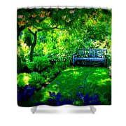 Solo Bench Shower Curtain
