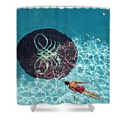 Solo Float Shower Curtain
