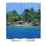Soloman Islands Shower Curtain