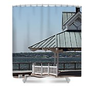 Solomons Island - Welcome Shower Curtain