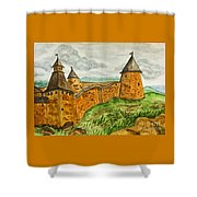 Solovetsky Monastery, Russia Shower Curtain
