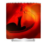 Soloviolin Shower Curtain