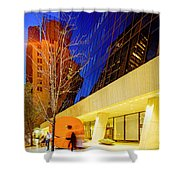 Solow Building Shower Curtain