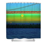 Solstice Bay Shower Curtain
