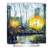 Solstice In The City, Vol.1 Shower Curtain