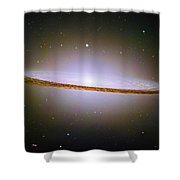 Sombrero Galaxy M104 Shower Curtain