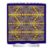 Some Color 85 Shower Curtain