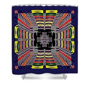 Some Color 86 Shower Curtain