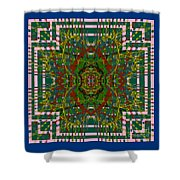 Some Color 89 Shower Curtain