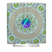 Some Colors On Your Wall Shower Curtain