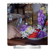 Some Floral Tea? Shower Curtain