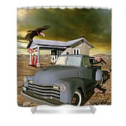Some Things Just Refuse To Die Shower Curtain