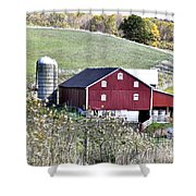 Somerset County Farm Shower Curtain