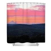 Somerset Sunset Horizontal Shower Curtain
