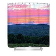 Somerset Sunset Vertical Shower Curtain
