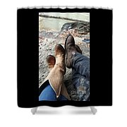 Something 'bout That Southern Boy Charm Shower Curtain