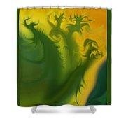 Something Green Shower Curtain