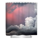 Something In The Clouds Shower Curtain