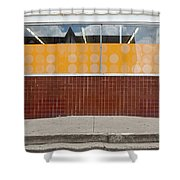Having Gone Forth Shower Curtain