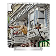 Something To Find Only The In The Haight Ashbury Shower Curtain