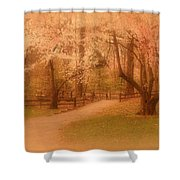 Sometimes - Holmdel Park Shower Curtain