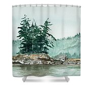 Sometimes A Great Notion Shower Curtain