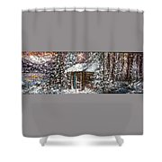 Sometimes In Winter Shower Curtain