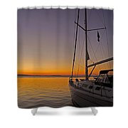 Somewhere Beyond The Sea ... Shower Curtain